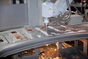 3D-Bearbeitung mit dem Laser für komplexe Konturen