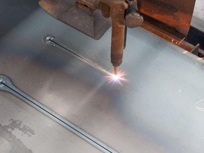 Lluminium-Laserschneiden bei der ESTA GmbH