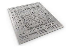 CNC-Laserschneiden von Stahl, Edelstahl und Aluminium