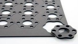 CO2-Laserschneiden von Kunststoff wie Acrylglas, Polyester uvm.