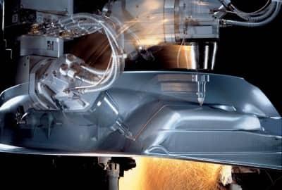 Der 3D-Laser in der Einsatzfertigung der Firma Gabio