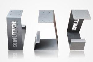 Laser-Kantteile aus Blech von Mutter-Solutions
