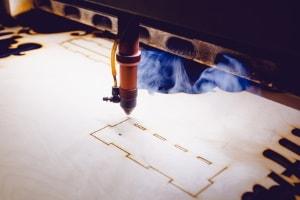 Sublimierschneiden für Holz, Pappe und papier
