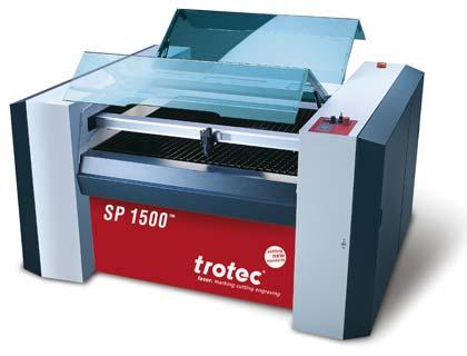 SP1500: Die großflächige CO2-Laserschneidmaschine