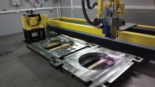Stahlbearbeitung mit dem Laser
