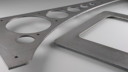 2D-Laserteile aus Stahl für den Maschinenbau