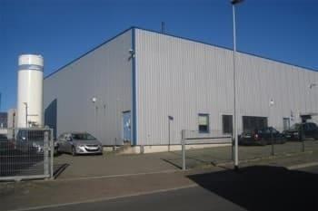 Blick auf das Firmengebäude der LWR GmbH