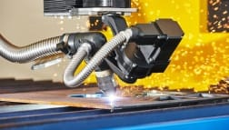 Plasmaschneiden im Fertigungseinsatz