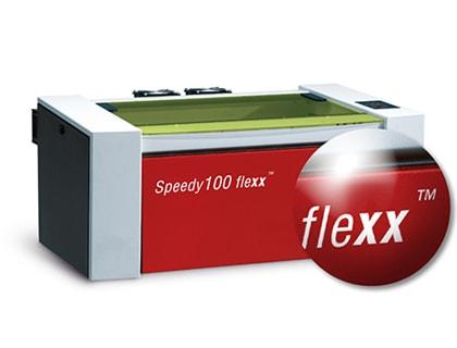 Der Speedy 100 flexx von Trotec ermöglicht perfekte Laserschnitte